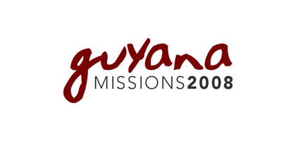 Logo for a missions trip to Guyana, South America